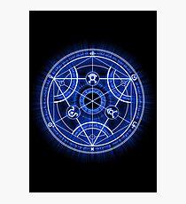 Human Transmutation Circle Photographic Print