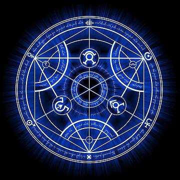 Menschlicher Transmutationskreis von RevolutionGFX