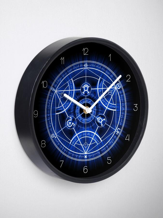 Alternate view of Human Transmutation Circle Clock