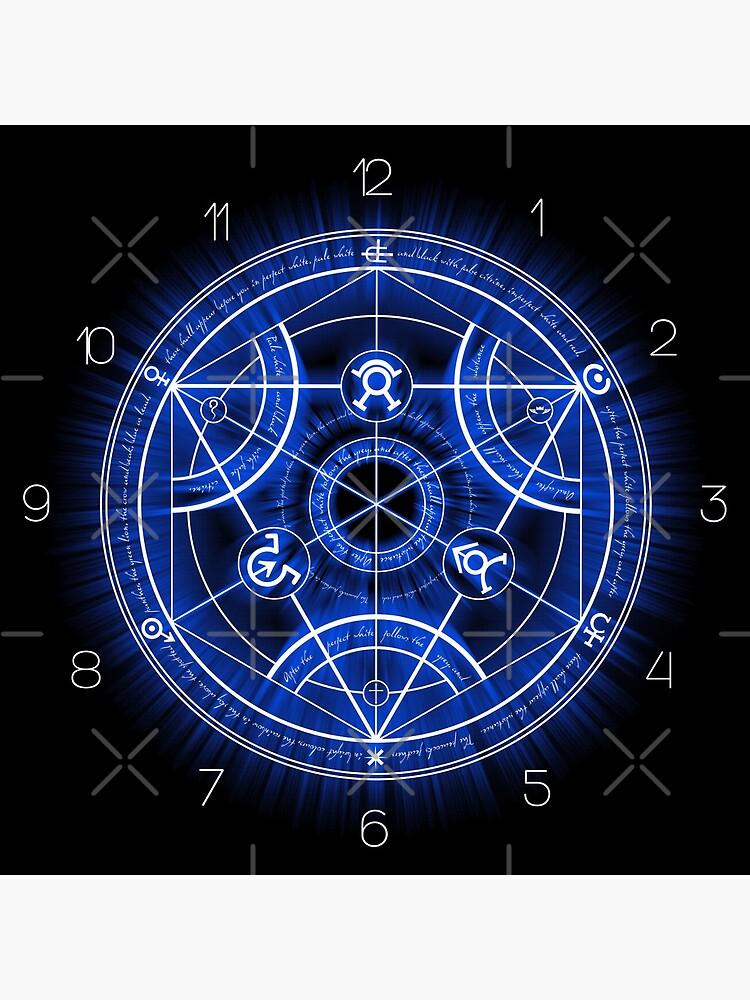 Human Transmutation Circle by RevolutionGFX