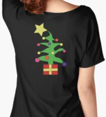 christmas tree big star Women's Relaxed Fit T-Shirt