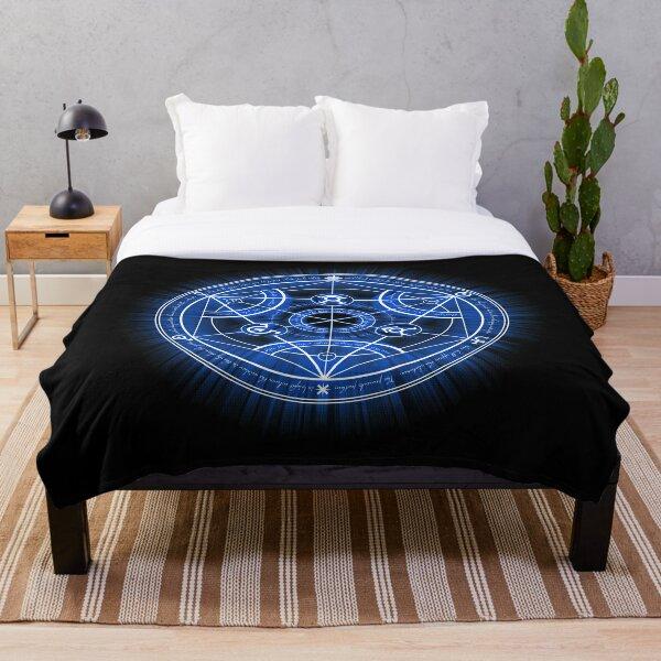 Human Transmutation Circle Throw Blanket
