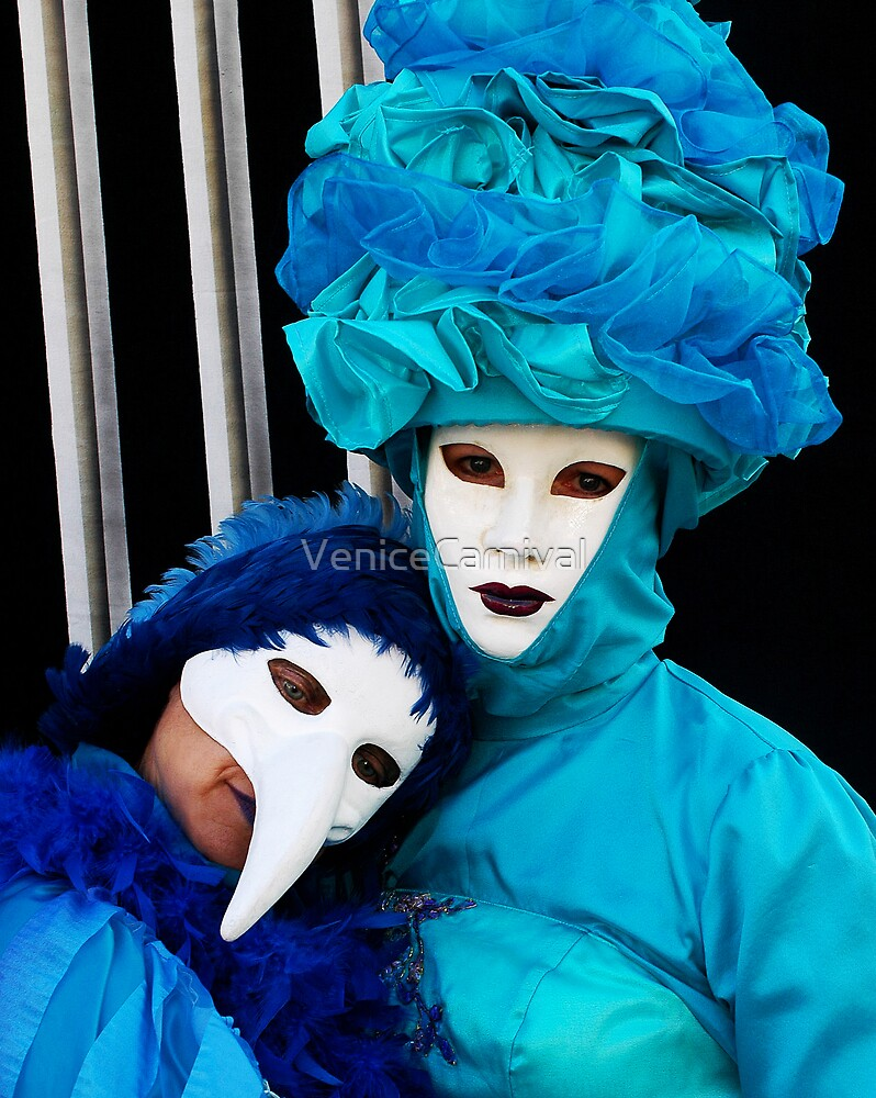 Blue Love by VeniceCarnival