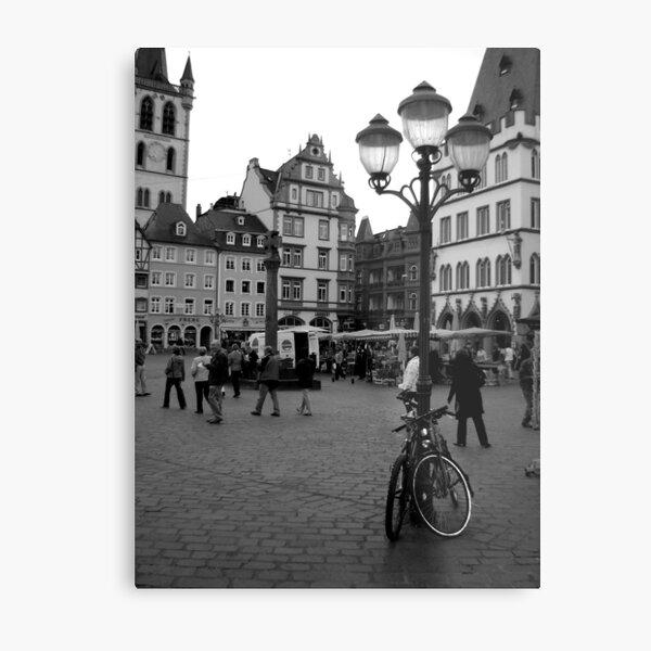 Hauptmarkt, Trier Metal Print