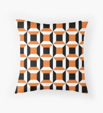 Crooked Rupees Throw Pillow