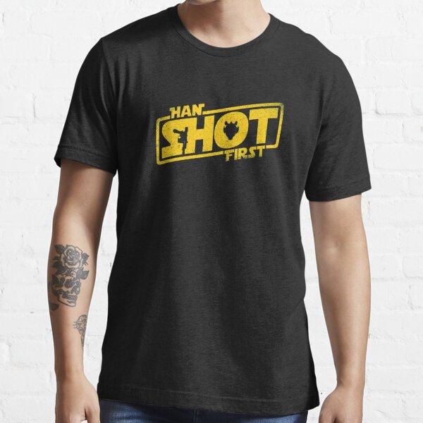 Han Shot First Essential T-Shirt