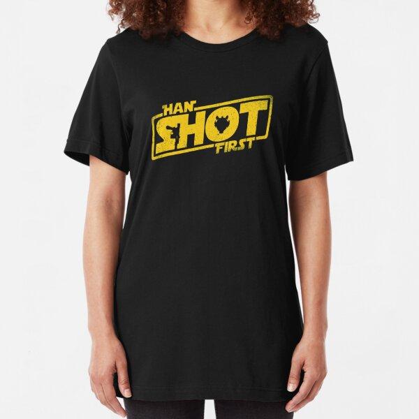 Han Shot First Slim Fit T-Shirt