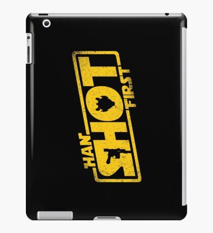 Han Shot First iPad Case/Skin