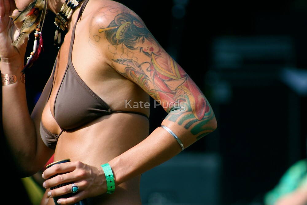 Festival Girl by Kate Purdy