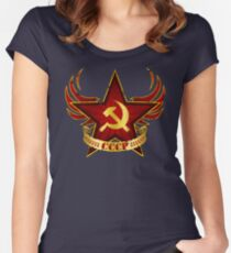 CCCP Army Women's Fitted Scoop T-Shirt