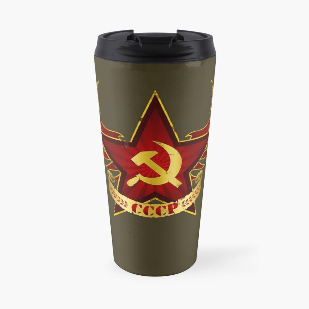 CCCP Army Travel Mug