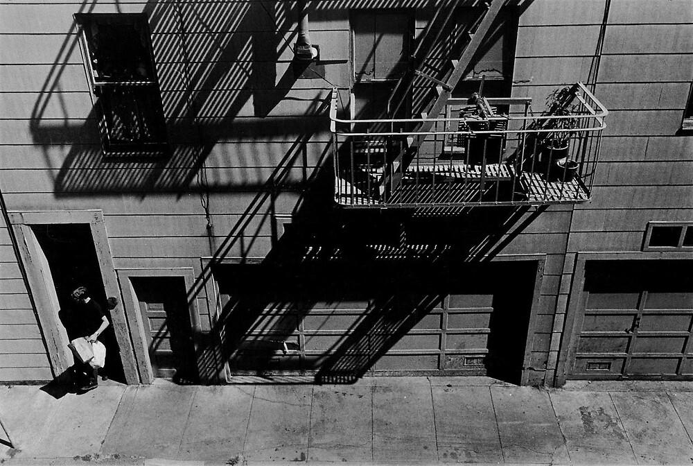 Alleyway, San Fransisco, 1984 by Timothy Wilkendorf