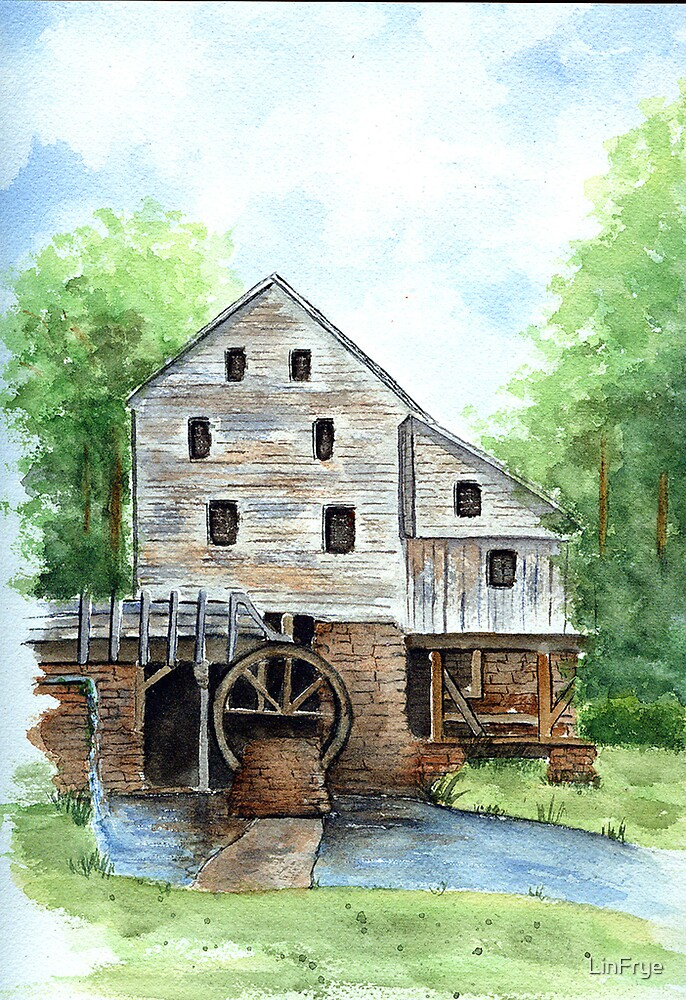 Yates Mill by LinFrye