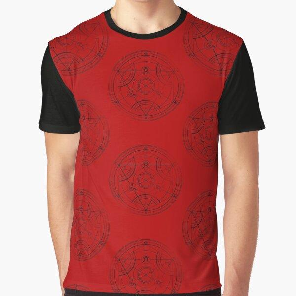 Human transmutation circle - charcoal Graphic T-Shirt