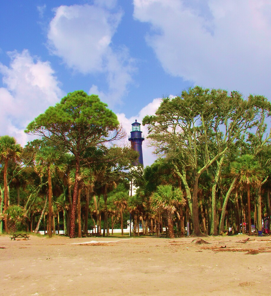 Hunting Island Lighthouse by alr2008