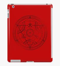 Menschlicher Transmutationskreis - Holzkohle iPad-Hülle & Klebefolie