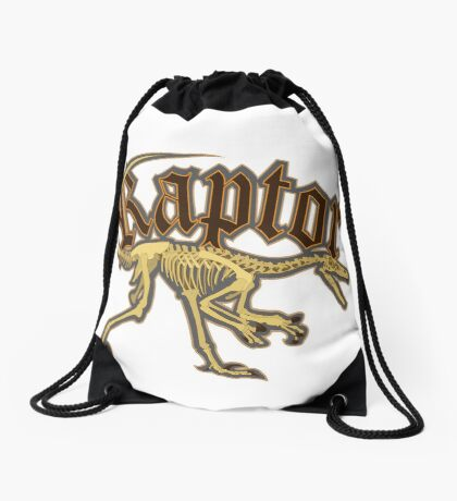 Raptor Drawstring Bag