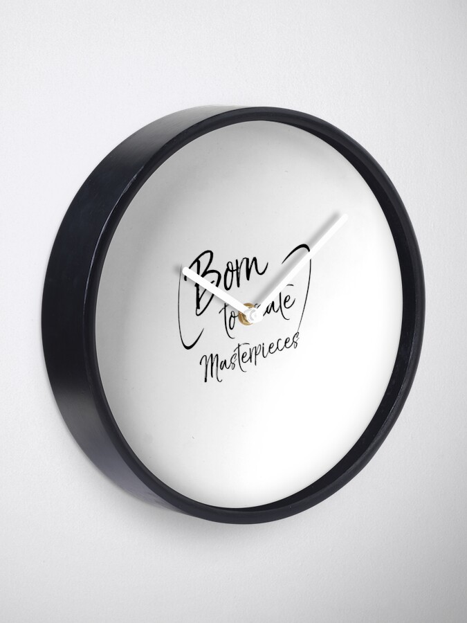 Alternate view of Born to Create Masterpieces Artistry Talent Clock