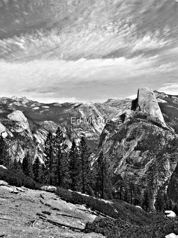 Half Dome - Yosemite National Park, California by Ed Moore