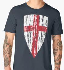 Crusader Knights Templar Cross Men's Premium T-Shirt