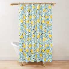 Busy Little Honeybees Shower Curtain