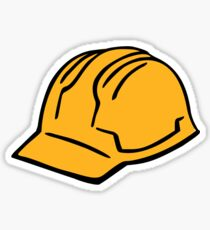 Construction helmet Sticker