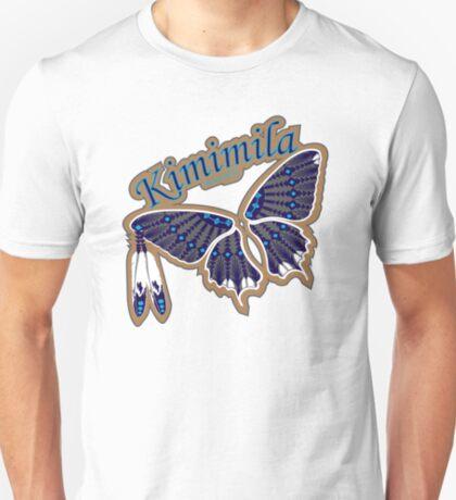 Butterfly Nation Blue T-Shirt