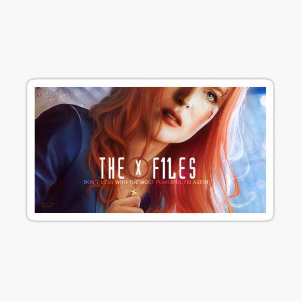 Scully version s11 Sticker