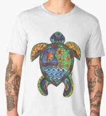 Hawaiian Sea Turtle Men's Premium T-Shirt