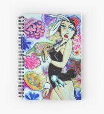 Flower Flight 1 Spiral Notebook
