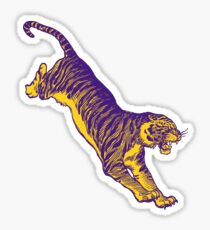 Pouncing Tiger LSU Sticker