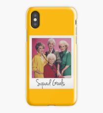 Golden Squad Goals iPhone Case/Skin