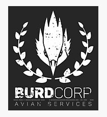 BURDCORP - Avian Services Photographic Print