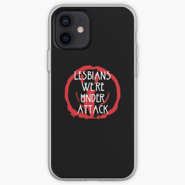 Lesbiennes sous l'attaque Coque souple iPhone