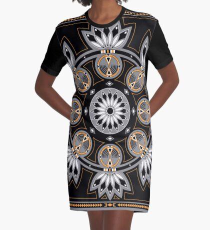 Thunderbird Eagle Graphic T-Shirt Dress