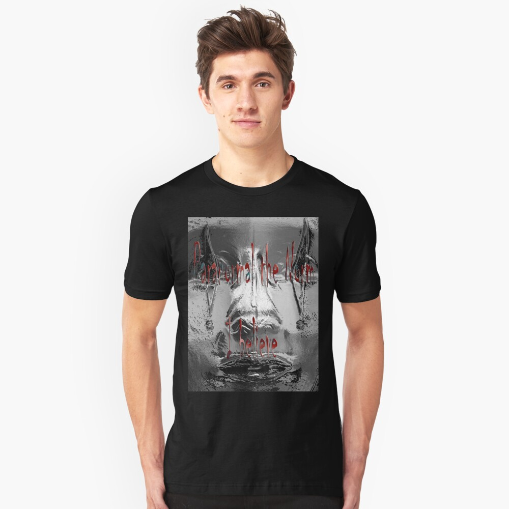 Paranormal the norm #3 Unisex T-Shirt Front