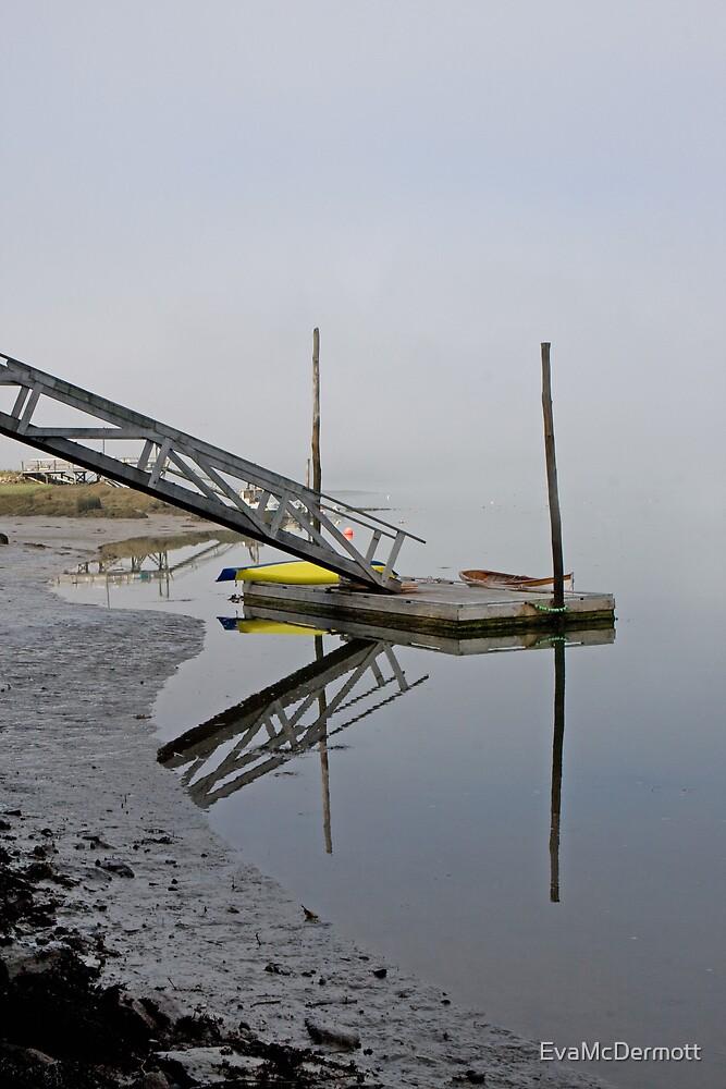 Fog on the River by EvaMcDermott