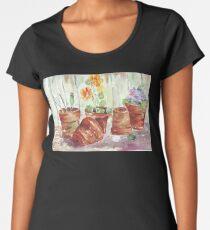 Another Shelf in my Garden Shed Women's Premium T-Shirt