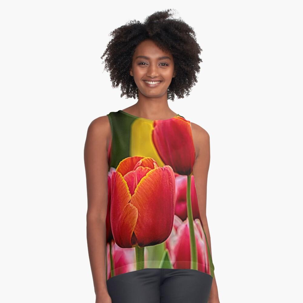 Tulips Sleeveless Top