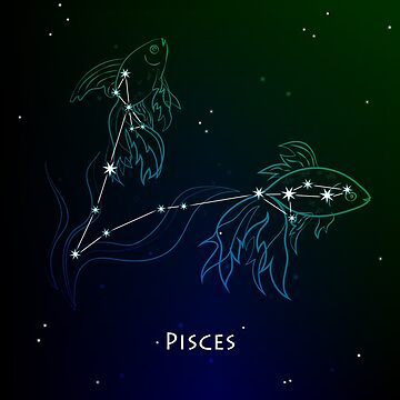 Pisces ( Fishes ) - constellation and zodiac sign by Mila-Che
