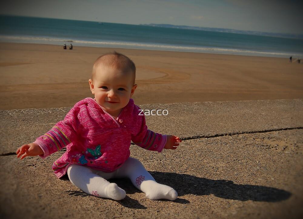 meg on the beach by zacco