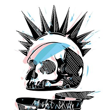 Misfit Skull by Yangh