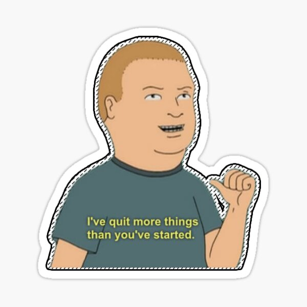 Bobby Hill  Sticker