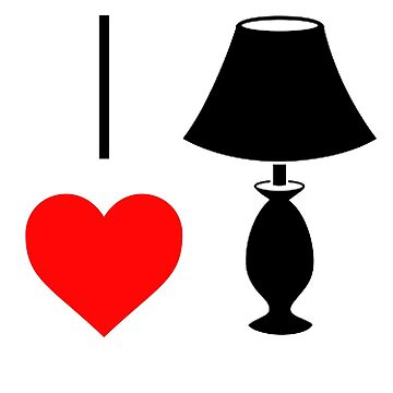I Love Lamp by SquareFashion