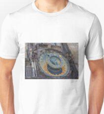 Prague Astronomical Clock in Prague T-Shirt