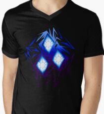 Shards of Rarity's Cutiemark Men's V-Neck T-Shirt