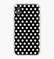 Vinilo o funda para iPhone Polkadots en blanco y negro