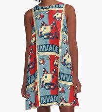 INVADE A-Line Dress