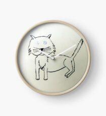 Cat - Chat de Martin Boisvert Horloge