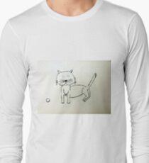 Cat - Chat de Martin Boisvert T-shirt manches longues